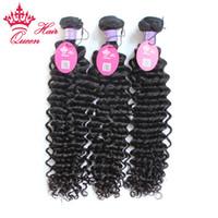 tejido rizo profundo de malasia al por mayor-Queen Hair 8-30