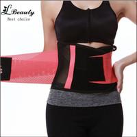 Wholesale Training Girdles For Women - Wholesale-New women's waist training corsets weight loss shapewear women girdles body shapers for women postpartum belt miss belt-3A