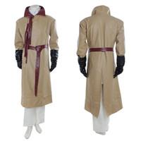 Wholesale making music games - Halloween Costume Long Sleeve Khaki Adult Size Game of Thrones Cosplay Halloween Costume