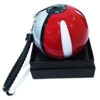 Wholesale ar ball - 2016 Poke power bank 10000 mAh for Poke AR game powerbank with Poke ball LED light portable charge figure toys OTH278