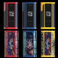 Atacado- Original IJOY Captain PD270 Box Mod Vape 234W NI / TI / SS TC Electronic Cigarette Vaper Power by Dual 20700 Battery