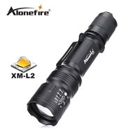 Wholesale Waterproof Tactical Flashlights - TK104 zoomable Tactical Gun Flashlight Pistol Handgun Torch CREE L2 LED 2200LM light Lamp Taschenlampe Waterproof led flashlight