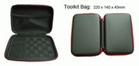 Wholesale Ego X - Toolkit Zipper Carrying Cases Carry eGo Cigarette Case with Size: 220 x 140 x 45mm