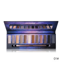 Wholesale naked palette makeup 12 online - 12 Color Nude Star Series Eye Shadow Palette Perfect Golden Sleek Smoky Eyeshadow Shimmer Matte Naked Palette Makeup Set