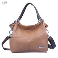 2016 New Fashion Korean Style Bucket Tote Bag Mulheres PU Leather Handbags Vintage Ladies Classical Messenger Shoulder Bags LM060