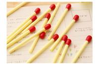 plastik tükenmez kalemler toptan satış-Sevimli Tükenmez Kalemler Maç Şekli Tasarım 0.5mm Kalem Nokta Mavi Yağlı Mürekkep Plastik Kabuk