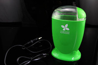 Vente en gros-nouveau! Green Electric Tabac Shredder Grinder Cut Converter Pare-brise multifuntion Grinder