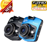 Wholesale time records online - 2017 New Original Podofo A1 HD P Night Vision Car DVR Camera Dashboard Video Recorder Dash Cam G sensor