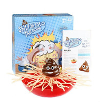 Wholesale Desktop Bowling - Shit Fall Into The Bowl Toy Removed Noodles Family Desktop Game Kids Party Balance Game OOA3452