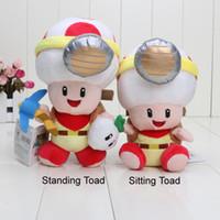 Wholesale Doll 19 - 19-22cm Captain Toad Plush Toys New 2017 Super Mario Treasure Tracker Stuffed Plush Dolls