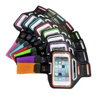 Wholesale Running Pouch Iphone - High Quality! For iPhone 6 4.7 Plus 5.5 inch Waterproof Sport Gym Running Armband Case Cover Bag Pouch For Mobile Phone