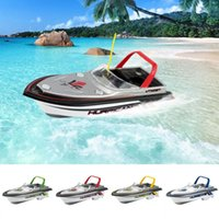 Wholesale Electric Rc Boats Racing - Mini RC Racing Submarine Boat Remote Control Toys child present kid brithday gift Cool RC Boat
