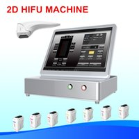 2d hifu Face Lifting corpo máquina de emagrecimento High Intensity Focused Ultrasound HIFU sistema Skin tightening low price