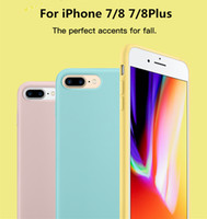 Wholesale Original Iphone For Sale - For iPhone 8 silicone case original style Liquid Silicon rubber Cases with retail boxes For iphone x for iPhone 8 Plus 6 7 plus 10 sale