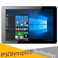Wholesale Tablet Pc 1366x768 - Original 10.8 Inch CHUWI Hi10 Plus Dual OS Tablet PC Windows 10 Android 5.1 Intel Cherry Trail Z8350 Quad Core 4GB RAM 64GB ROM