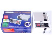 Wholesale Game Package - HDMI Out Retro Classic Handheld Game Console Family TV Video Game Console Childhood Built-in 600 Games HDMI Nes Console With Package