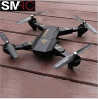 Wholesale Aerial Photography Quadcopter - RC visuo XS809HW 2.4G hovering racing helicopter rc drones with camera hd drone profissional fpv quadcopter aircraft photography