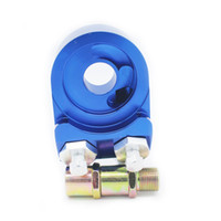 Wholesale Oil Cooler Npt - GS-Universal Aluminum AN10 1 8 NPT OIL COOLER ADAPTER SANDWICH TURBO FITTING 3 4-16 UNF,M20*1.5 GS-FT-095-3