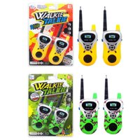 Wholesale Two Way Radios Sale - 2pcs Professional Intercom Electronic Walkie Talkie Kids Child Mni Handheld Toys Portable Two-Way Radio Hot Sale
