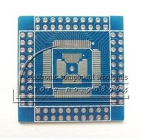 Wholesale QFN TQFP LQFP QFP pin mm pitch to dip pcb adapter Board side