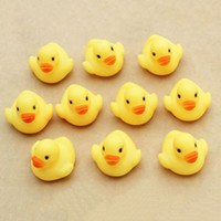 Wholesale Birthday Rubber Duck - Wholesale- 10Pcs set Cute Rubber Duck Ducky Duckie Baby Shower Birthday Party Favors Toys Best Gift For Children Kids F1