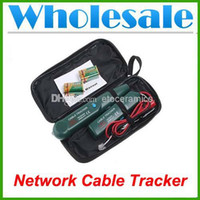 Wholesale Network Cable Tester Meter - Wholesale New Cable Finder Tone Generator Probe Lan Wire Tracker Kit Network Tester Meter Lots100