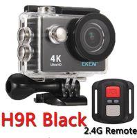 casus video kamera sesi toptan satış-Eylem Kamera eken H9R / H9 Ultra HD 4 K WiFi Uzaktan Kumanda Spor Video Kamera DVR DV Su Geçirmez pro Kamera gitmek