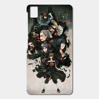 Wholesale Naruto Iphone Cases - High Quality Cell phone case For BQ Aquaris E5 E6 M5 X5 csae Naruto Akatsuki Shippuden Patterned Cover Shell Phone Case