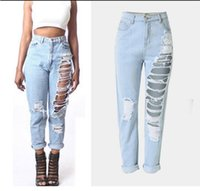 Wholesale Suit Buttons For Sale - Best Sellers The Explosion Suit-dress Holes Cowboy Easy Directly Jane. Nine Pants Heat Sales Source for women plus printed Button Fly jeans