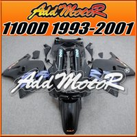 Wholesale Ninja Zx11 - Best Choice Brand New Fairings Addmotor NewDesign Compression Mold ABS For Kawasaki ZX11 ZZR1100D 1993-2001 Blue Black K1327 +5 Free Gifts