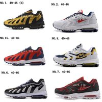 Wholesale Men S Max Running Shoes - Wholesale Mens MAXES 96 Running Shoes Top Quality Maxes Low Cut Shoes the Mountain of Flames breathable Sneaker Men's Running Walking S