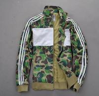 yüksek markalı giyim ceketi toptan satış-Kanye marka Erkek Kadın MA1 Ceket Kalın Yüksek Kaliteli Rüzgarlık Hoodie Hip Hop Marka Giyim Bombacı Ceket Homme