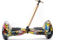 haste de equilíbrio venda por atacado-Haste de tração ao ar livre 2 rodas auto balanceamento de scooter elétrico ceia trole luz eletrônico scooter gravata vara frete grátis