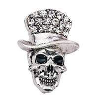 Wholesale Cool Brooches - Vogem Cheap halloween brooch pin skull brooch vintage china factory direct lapel pin men lapel pins for suits male brooch cool pins