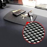 sihirli cep telefonu tutacağı toptan satış-Araba Siyah Renk 22 * 19cm Büyük Boy Toptan-Magic Cep Telefonları Kayma Önleyici Dash Mat Cep Telefonu Pad Tutucu