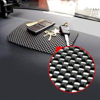 mattenhalter für telefon großhandel-Großhandels-magische Handy-Antibeleg-Strich-Mat-Handy-Auflage-Halter für Auto-schwarze Farbe 22 * 19cm große Größe