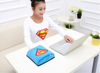 Wholesale Heat Mouse - Wholesale- Blue Winter Usb Hand Warm Mouse Pad Heated Mousepad Laptop Gaming Mousepad