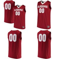 Wholesale Hot Kid S - Wholesale NCAA Mens Womens Kids Alabama Crimson Tide Personalized Basketball Any Name Any No. Jersey S-5XL College Basketball Jerseys Hot