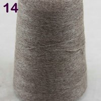 Wholesale Khaki Yarn - Sales 1X100g high quality 100% pure cashmere warm soft hand-woven tower yarn Khaki 26214