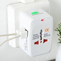 Wholesale Global Power - Universal USB Global Plug Adapter Switch Plug usb Travel AC Power Charger Adaptor with AU US UK EU converter Plug with packag