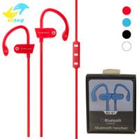 ms telefonlar toptan satış-Yeni MS-B7 Bluetooth Kulaklık Kulaklık Stereo Spor Koşu için Kablosuz Kulaklık Telefon için Mikrofon ile iphone 7 7 artı