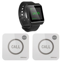 Wholesale SINGCALL Wireless Calling System for Restaurant Watch Touchable Pagers