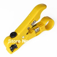 Wholesale wire strippers tools resale online - Coaxial Cable Stripper Coax Stripping Tool For RG59 RG6 RG7 RG11 Cassette Is Reversible High Quality Easy To Use