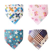 Wholesale double side bib - Wholesale- 3pcs lot Newborn Baby Bibs Double Sided Multi-function Bibs Infant Baby Boys Girls Feeding Clothing For Kids BB086 Accessories