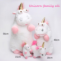 Wholesale Favorite Pink - Free shipping backpack unicorn plush toy backpack girl favorite toys 6-29 inch in the sotck pink and white kids toy Stuffed Plus Animals