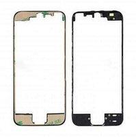 iphone rahmenhalterung großhandel-10 teile / los Schwarz / Weiß LCD touchscreen rahmen vorne lünette unterstützung halterung mit 3 Mt klebeband für iPhone 5 S