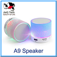 Wholesale Reader Table - Bluetooth A9 MP3 PlayerSpeaker Mini Speaker Outdoor Speaker Support TF SD Card Music Player Wireless Speaker For Table PC iPhone Smart Phone
