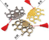 Wholesale Smile Face Button - smiling face Finger button ring Punch button Protective Gear finger tiger ring Powerful Outdoor safe Slingshot Velocity Hunting Catapult