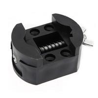 Wholesale Holder For Watch Repair - Wholesale-Hot Sale Black Watch Case Holder Adjustable Opener Vice Tools Repair Kits For Watchmaker