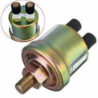Wholesale Oil Sensors - 1 8 NPT Oil Pressure Sensor Engine Oil Pressure Switch Sensor Gauge Sender